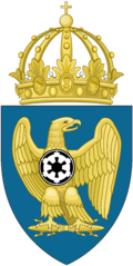 Lesser Coat of Arms of the Empire of Paradise Island