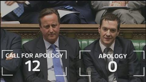 Syria vote David Cameron ignores repeated calls to apologise