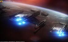 Starcraft terran battlecruisers by euderion dbibpwq-fullview.jpg
