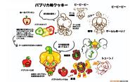 Bell Pepper Cookie concept art