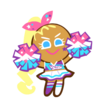 Cheerleader Cookie (Crazy Cute Uniform).png