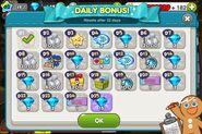 Daily Bonus start