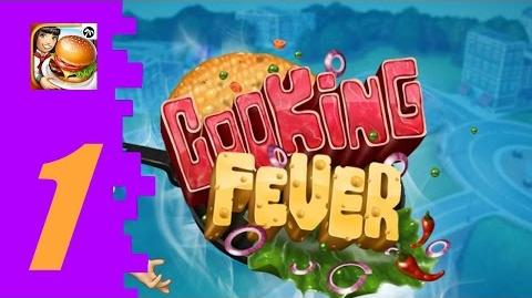 Cooking Fever (Part 1) Welcome! Fast Food Court Levels 1-5