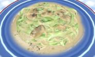 Mushroom Sauce Fettuccine