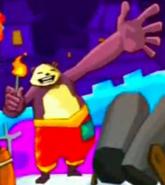 Teenager Pandakönig