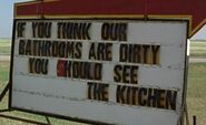 S01E11-Dirty kitchen sign
