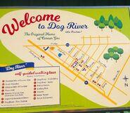 Dog River map