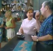 Corrie stannie at bar 1971