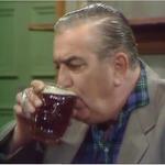 Corrie stannie drinking 1970.png