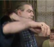 Corrie stannie gets to work 1976