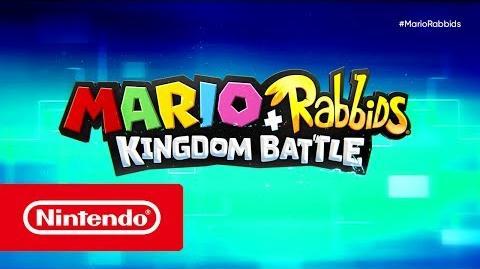 Mario Rabbids Kingdom Battle - Tráiler del E3 2017 (Nintendo Switch)