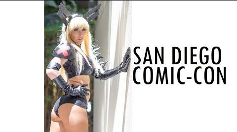 THIS IS COMIC-CON SDCC 2018 SAN DIEGO COMIC CON COSPLAY MUSIC VIDEO CALIFORNIA VLOG