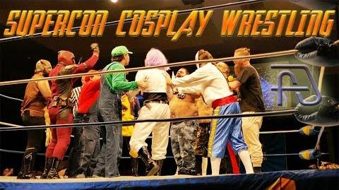 Fantasy Super Cosplay Wrestling at Florida Supercon 2018