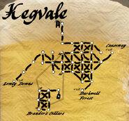 Kegvale map