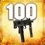 Zabij 100 przeciwników używając MAC-10