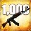 Zabij 1000 przeciwników przy użyciu AK-47