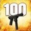 Zabij 100 przeciwników używając Tec-9