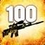 Zabij 100 przeciwników używając SCAR-20