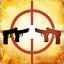 Używając dwóch pistoletów Beretta, zabij przeciwnika, który także ich używa.