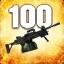 Zabij 100 przeciwników przy użyciu Negeva