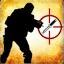 Zabij pistoletem maszynowym przeciwnika, który jest na poziomie złotego noża w trybie Wyścig Zbrojeń.