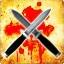 Zabij nożem przeciwnika, który jest na poziomie złotego noża w trybie Wyścig Zbrojeń.