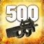 Zabij 500 przeciwników używając P90