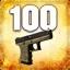 Zabij 100 przeciwników przy użyciu Glock-18