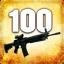 Zabij 100 przeciwników przy użyciu SG553