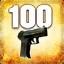 Zabij 100 przeciwników przy użyciu P2000 lub USP