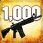 Zabij 1000 przeciwników przy użyciu karabinu M4