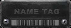 Tabliczka z nazwą