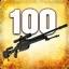 Zabij 100 przeciwników używając SSG 08