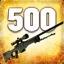 Zabij 500 przeciwników używając AWP