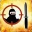 Zabij gracza, który jest na poziomie złotego noża w trybie Wyścig Zbrojeń.