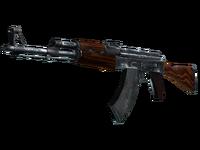 AK-47 - przykład broni terrorystów CS:GO