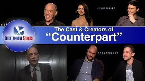 """""""Counterpart"""" interview with the stars and creators"""