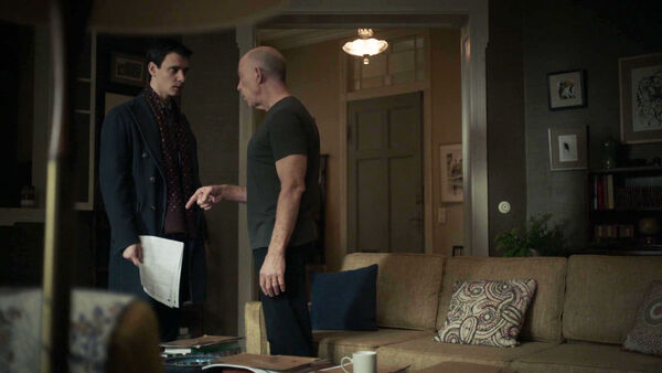 Harry-Lloyd-JK-Simmons-Peter-Quayle-D2-Howard-Silk-discuss-the-mole-Counterpart-STARZ-Season-1-Episode-6-Act-Like-Youve-Been-Here-Before.jpg