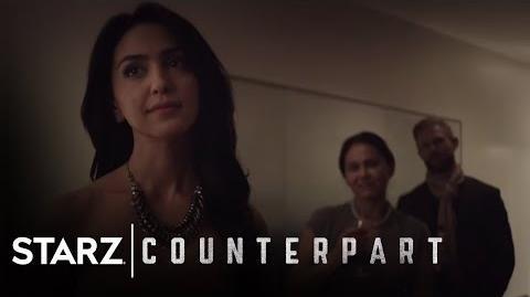 Counterpart Inside the World of Counterpart Season 1, Episode 7 STARZ