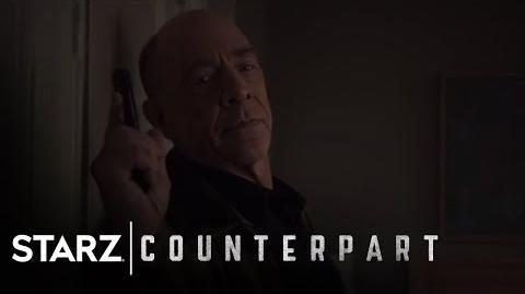 Counterpart Inside the World of Counterpart Season 1, Episode 5 STARZ