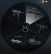 Пистолет-пулемет КТ с mp5