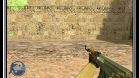 Counter Strike 1.6 Rambo's AK-47 Shooting Technique.