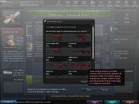 Red guns select