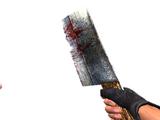 Нож тяжёлого зомби