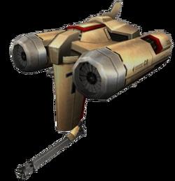 Модель летающего беспилотника