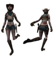 Cowgirl host