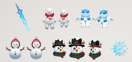 Snow costumes