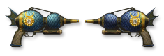 Sha Wujing Dual Handgun