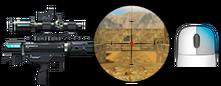 2x снайперский прицел