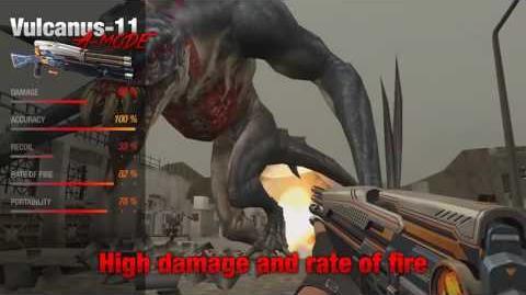 Vulcanus-9 & Vulcanus-11 - Counter Strike Nexon Zombies